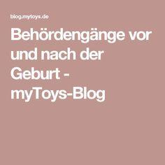 Behördengänge vor und nach der Geburt - myToys-Blog