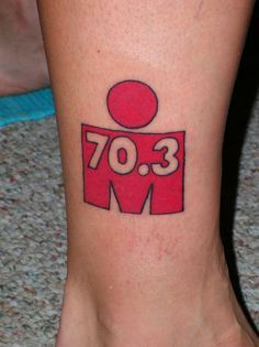 Image result for 70.3 tattoo