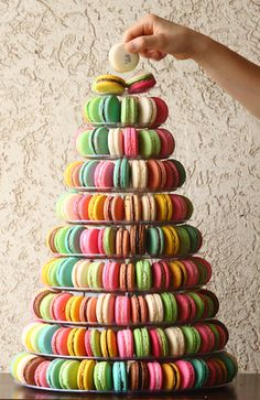 Macaroon tree for your #wedding? - Le 15 Patisserie
