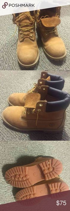 TIMBERLAND boots women BOUGHT FOR $170  Only worn for one winter Gently used Size 7 Medium Brand: Timberland  Snow boots, rain boots  Will look new if cleaned  6 inch premium   NEGOTIABLE IF REASONABLE Timberland Shoes Winter & Rain Boots