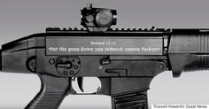 Russell Howards Good News Takes On Americas Obsession With Guns