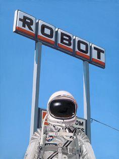 ROBOT, by  Scott Listfield - 20x200.com