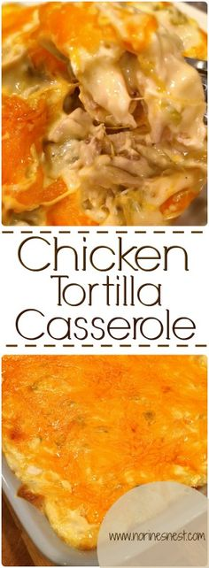 Chicken Tortilla Casserole is a family favorite! This casserole reminds me of…