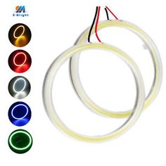 a 1pair 60mm 70mm 80mm 90mm 100mm 110mm 120mm halo ring cob angel eyes lampshades