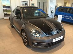 Beetle GSR Beetle GSR 2.0 TSI 210ps DSG grey with black stripes