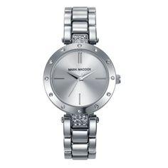 Mark Maddox - Ladies Trendy Silver Bracelet Watch - MF3003-07 - Online Price: £69.95