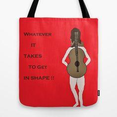 Get in Shape Tote Bag