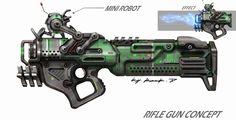 ArtStation - gun concept, Rock D