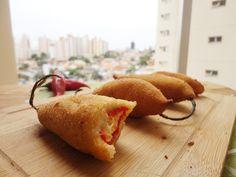 Brisando na Cozinha: Pimenta recheada com queijo (ou o que mais você quiser)