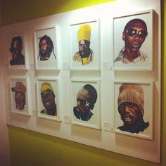 Exhibition: Art in the Dancehall  Israeli artist Ellen G's portraits of dancehall deities