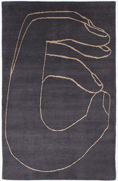 amazing. Geoff McFetridge  | Tibetan wool rug