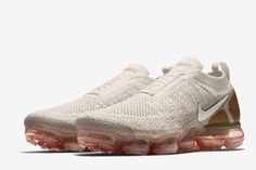 48265731d10b25 Nike Air VaporMax Flyknit Moc 2 Releasing in Sail   Multicolor