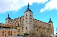 Capitali europee, bellezze nascoste -Toledo    alcàzar de toledo
