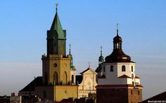 Trinity Tower, Cracow Gate and the Cathedral