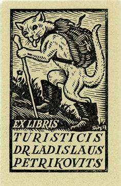 Ex libris by A. Fery