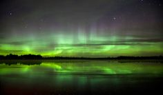 Online videos are nice, but nothing sends chills up your spine like seeing for yourself nature's own light show.