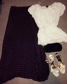 Outfit 13 #modesty #maxiskirt #modestoutfit