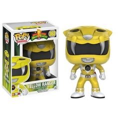 Yellow Ranger Pop Vinyl Pop Television Mighty Morphin Power Rangers | Pop Price Guide