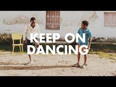 Keep on Dancing. Es un mensaje que nos manda UNICEF y esta muy chido. ¡Bailemos todos!