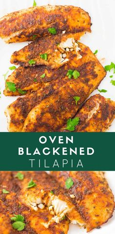 tilapia using this healthy cooking method. So you must learn how to cook tilapia in oven. Tilapia, like any other fish, is prepared quickly and easily. Tilapia Recipe Oven, Oven Baked Tilapia, Seasoning For Tilapia, Cooking Tilapia In Oven, Baked Tilapia Fillets, Tilapia Tacos, Blackened Seasoning, Seafood Dishes, Seafood Recipes