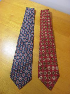 Lot of 2 Mens Silk Ties Polo Ralph Lauren   Burberry s of London Handmade  in US 1561ce5e433