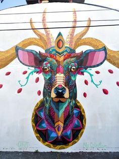 Durga Puja Durga Maa Pinterest Durga And Durga Puja - Building in berlin gets transformed by amazing 137 foot tall starling mural