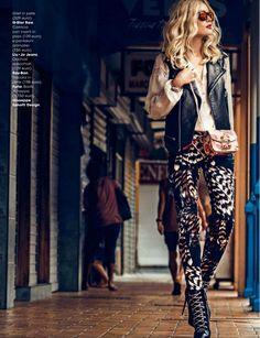 Olga Maliouk Glamour Italia August 2014