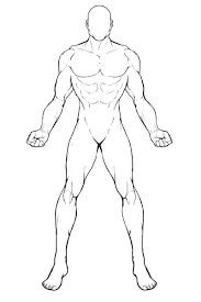 superhero man outline - Google Search