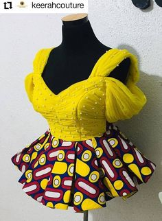 Latest African Fashion Dresses, African Dresses For Women, African Print Dresses, African Print Fashion, Africa Fashion, African Attire, Ankara Fashion, African Men, African Prints