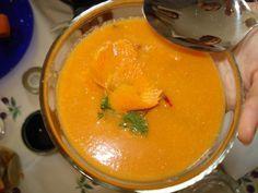 Raw vegan : Supa energizanta de morcovi si ghimbir