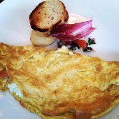 Salmon and feta omelette @manukakitchen