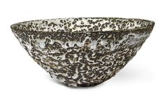 EMMANUEL COOPER - - BOWL impressed with Artist's seal stoneware with a thick volcanic glaze height: - diameter: Executed circa St Ives, Contemporary Ceramics, Britain, Stoneware, Decorative Bowls, Pottery, Artist, Art Auction, Ceramica