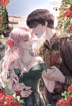 Anime W, Chica Anime Manga, Anime Art Girl, Anime Guys, Romantic Anime Couples, Romantic Manga, Cute Couples, Anime Love Story, Manga Love