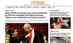 Pedro Pablo Kuczynski asumió este 28 de julio su nuevo cargo como Presidente de la República del Perú y los medios internacionales no fueron ajenos a esta noticia. La llegada de m