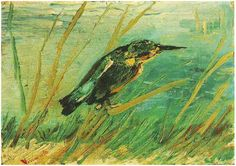Vincent van Gogh, Oil on canvas, Kingfisher