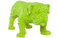 This vibrant Green Bulldog Statue really is a quirky companion to your home. Who doesn't love a Bulldog Quotes, Bulldog Pics, Bulldog Rescue, Bulldog Puppies, Statues, Cute Bulldogs, Selling On Pinterest, Shades Of Green, Animals And Pets