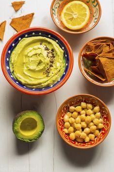 Hummus de aguacate #vegano #sano