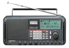 ETON Satellit 800 Millennium Shortwave Radio (Discontinued by Manufacturer) Radios, Foto Picture, Tvs, Liquid Crystal Display, Analog Signal, Hi Fi System, Digital Radio, Receptor, Radio Wave