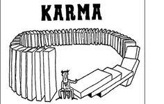 Así es el karma. Todo regresa a nosotros.  Con la misma vara que mides, serás medido y una cuarta más.