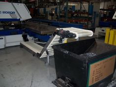 Conveyor Solution to Remove Scrap Metal Improves Efficiencies and Worker Safety