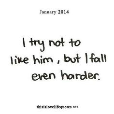 That I do 💜 no matter how many times I convince myself ... I fall even harder