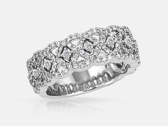 Celebrate your anniversary in a big way! Select diamond anniversary rings from Goodman's Jewelers. Find something special to complement your existing band. Wedding Bands For Her, Wedding Rings, Diamond Bands, Diamond Wedding Bands, Rings N Things, Diamond Anniversary Rings, Fire Heart, Expensive Jewelry, Platinum Ring