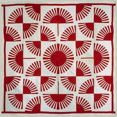 Fan quilt [American] (1988.24.1) | Heilbrunn Timeline of Art History | The Metropolitan Museum of Art