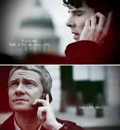 That was what broke my heart, as if John still had hope that he was misinterpreting the whole Sherlock-on-the-rooftop-going-to-jump situation