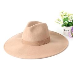 Item Type: Fedoras Gender: Unisex Style: Casual Material: Wool Size: Suitable for Hat Brim: Cool Hats, Unisex Fashion, Hats For Women, Panama Hat, Lady, Casual, Nice, Style, Products