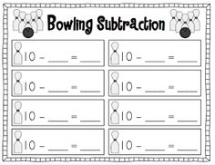 We've been working on subtraction this week, and I just whipped up this fun little game to use with my kiddos tomorrow. Once I introduce the...