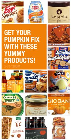 50 healthy and yummy pumpkin products!