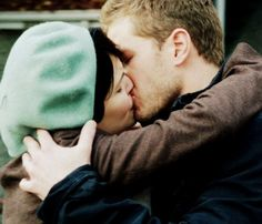 Yay for snow and charming :) I love that the actors are actually engaged in real life :) <3