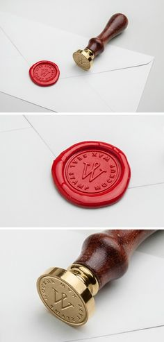 Wax Seal Stamp MockUp PSD