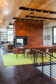 Gros Ventre Residence by Stephen Dynia Architects